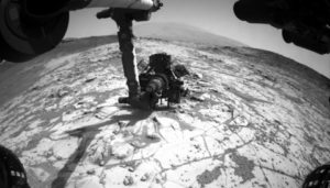 Mojave drill site on Mars