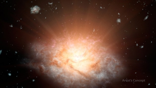Most Luminous Galaxy