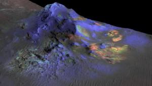 glass on Mars