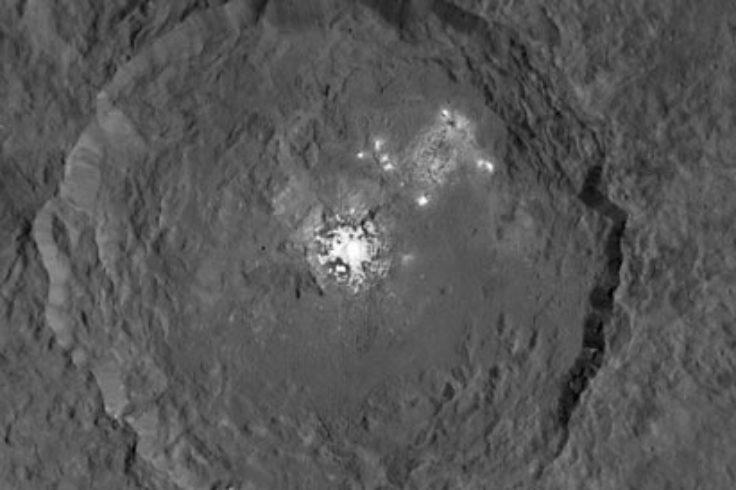 Ceres bright spots from HAMO