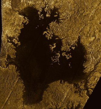 Ligeia Mare on Titan