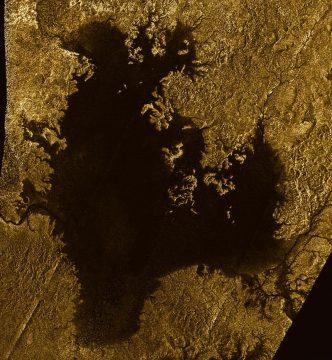 Ligeia Mare on Titan