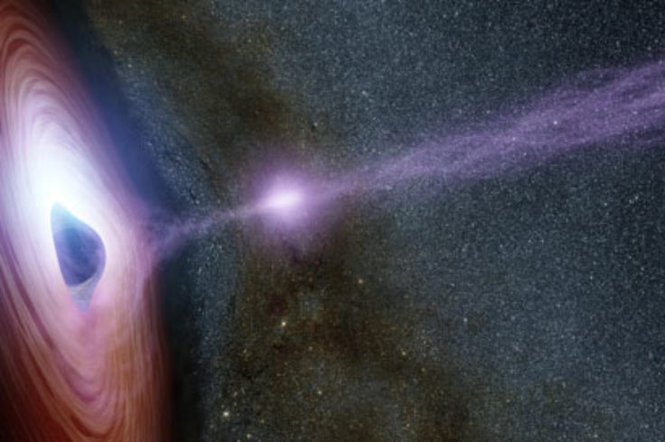 corona launched from black hole