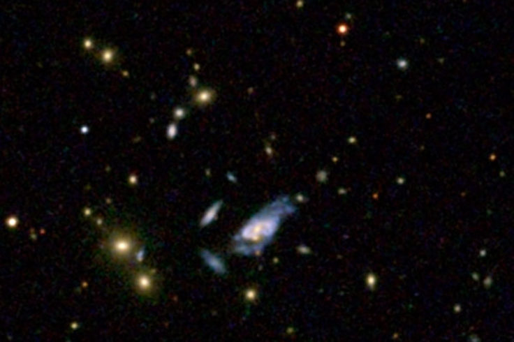 super spiral and normal galaxies