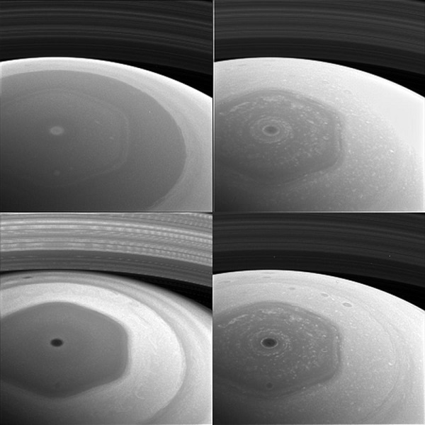 Saturn Hexagon