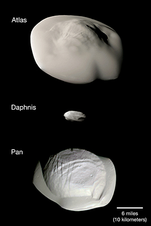 Saturn's small ring moons