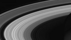 Saturn rings finale