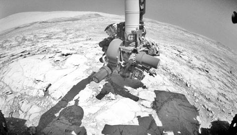 Drilling Mars