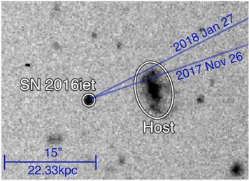 Supernova SN 2016iet