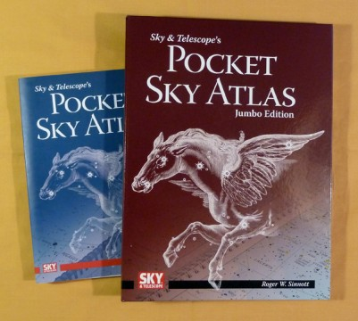 Jumbo-Size Pocket Sky Atlas