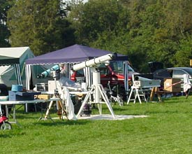 Telescopes at 2004 PSSP