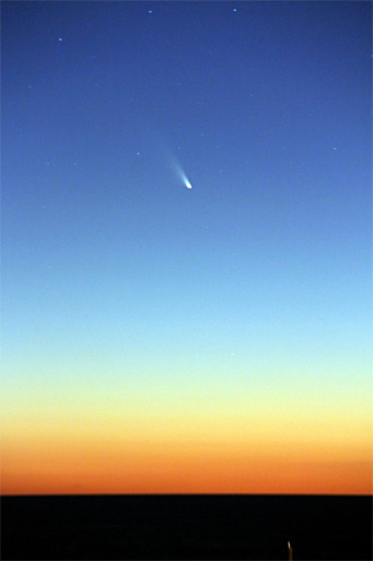 Comet PanSTARRS on March 2nd over Montevideo, Uruguay