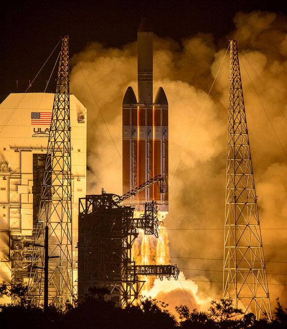 Parker Solar Probe launches