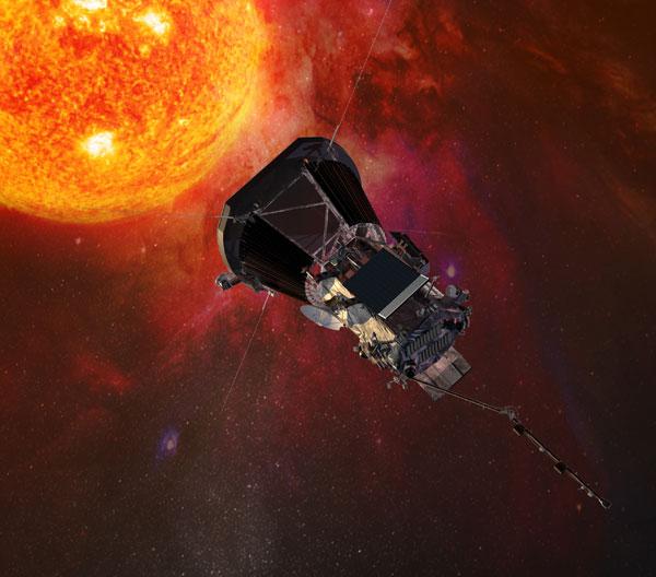 Parker Solar Probe near Sun