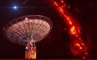 radio burst over the Parkes telescope
