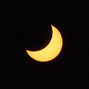 April's partial solar eclipse from Albany, Australia