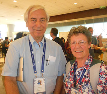 Jay Pasachoff and Jocelyn Bell