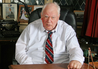 Sir Patrick Moore in 2006