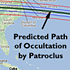 Path of Patroclus occultation