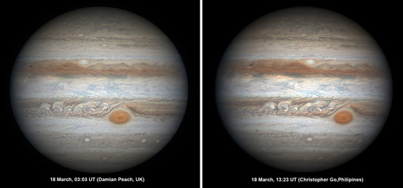 Peach-Go Jupiter pair