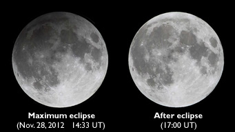 November 2012's penumbral lunar eclipse