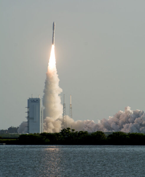 Perseverance launch