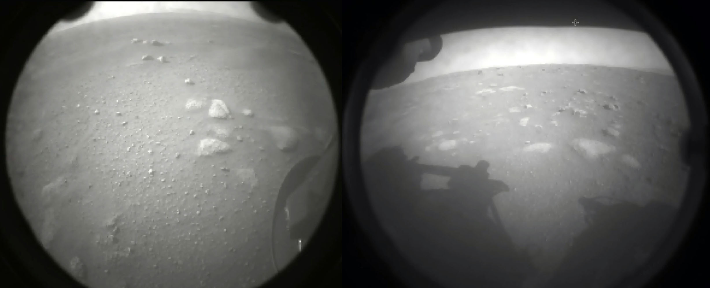 First photos of Mars from Perseverance