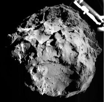 Philae spies Comet 67P/Churyumov-Gerasimenko