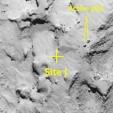 Philae's Site J