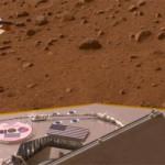 Mars from Phoenix lander