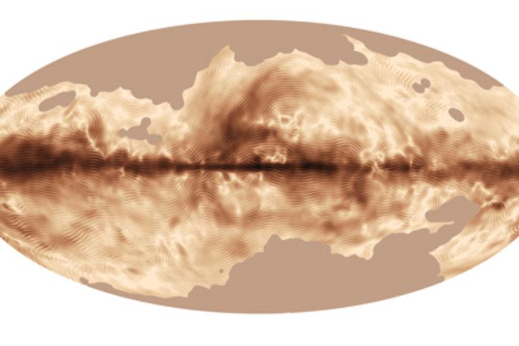 Milky Way's magnetic field