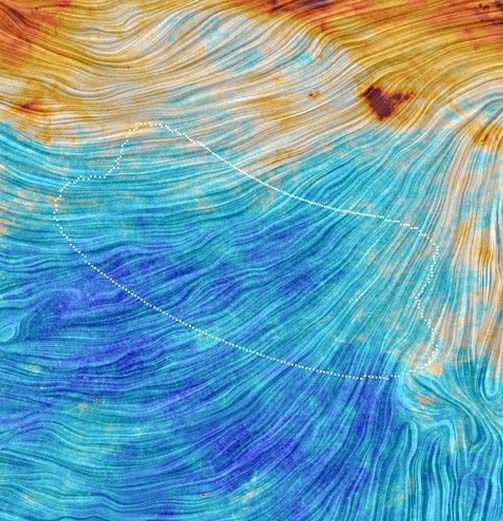 Planck_polarization_image_of_BICEP2_field