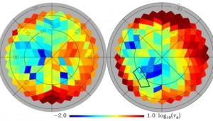dust polarization emission at galactic poles
