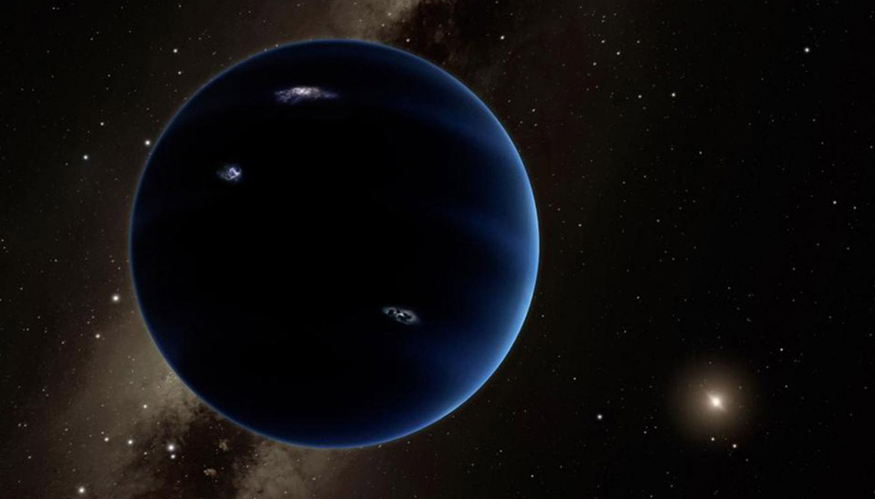 "The view from ""Planet Nine"""