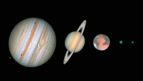 Planetary Imaging with Your DSLR Camera