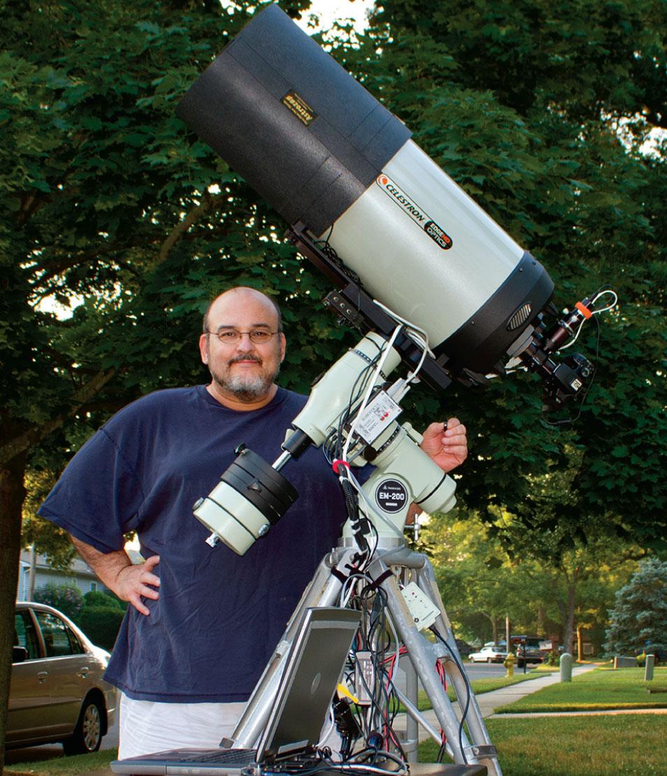 Как фотографировать звезды через телескоп