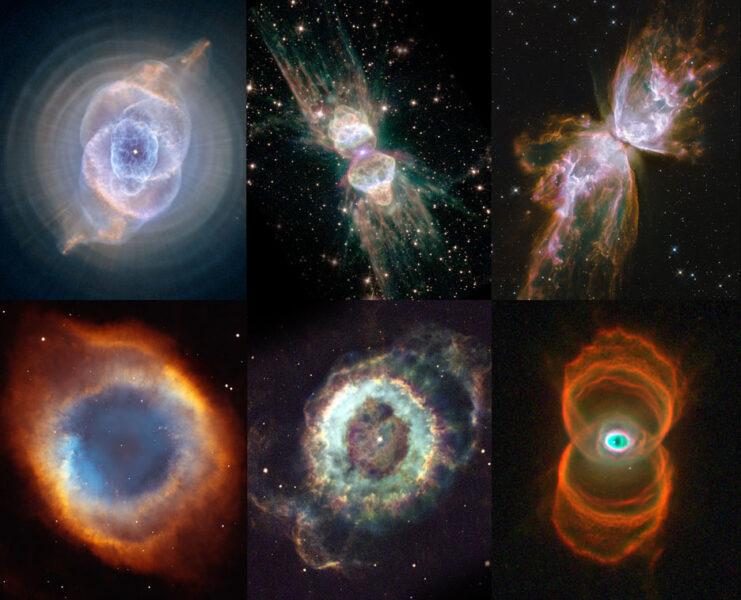 Planetary nebula gallery