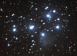 Seven Sisters, aka Pleiades, will rise again this month