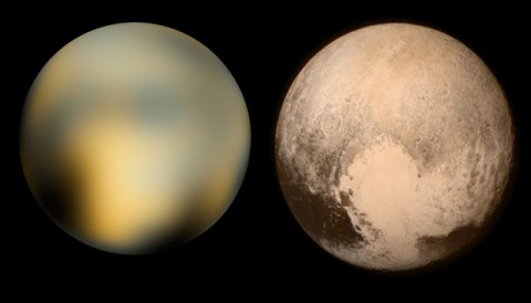 Pluto: Before and After New Horizons