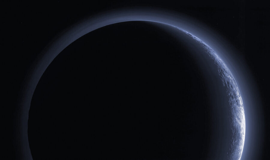 New Horizons looks back at Pluto