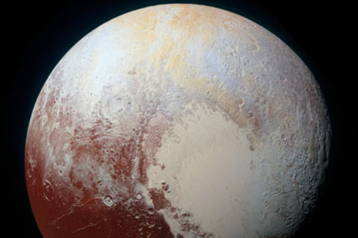 Beating heart on Pluto