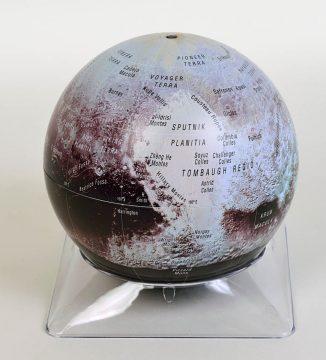 Sky & Telescope's Pluto globe