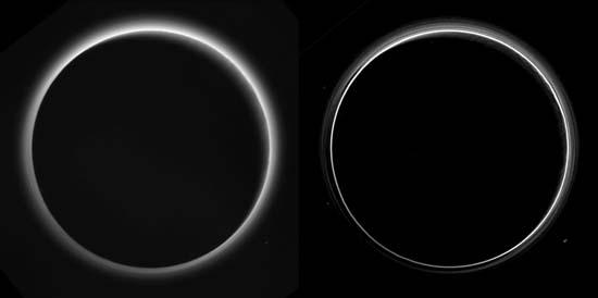 Pluto haze comparison