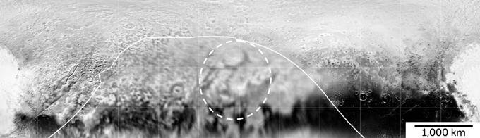 Ripples on Pluto