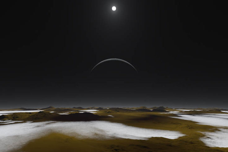 Would Pluto's surface look like this?