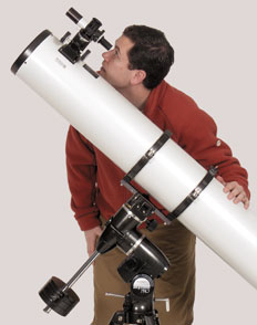 Aligning an equatorial mount on Polaris