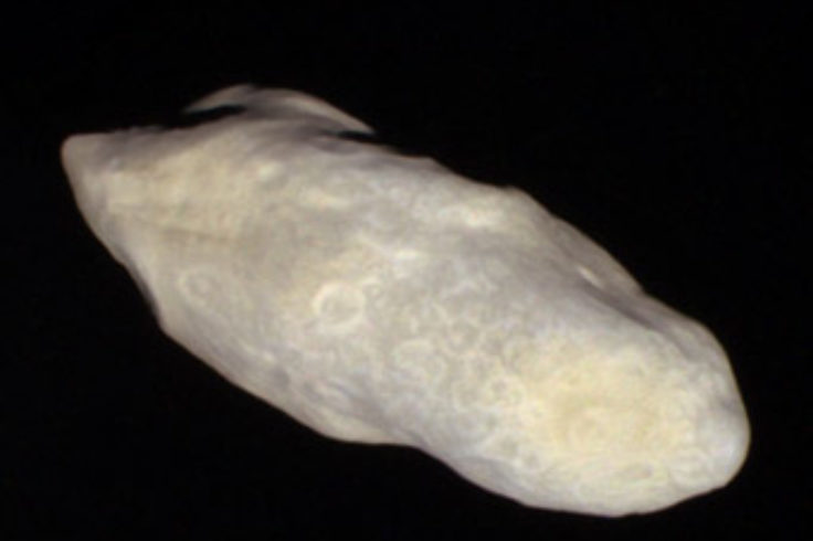 Weird moon Prometheus