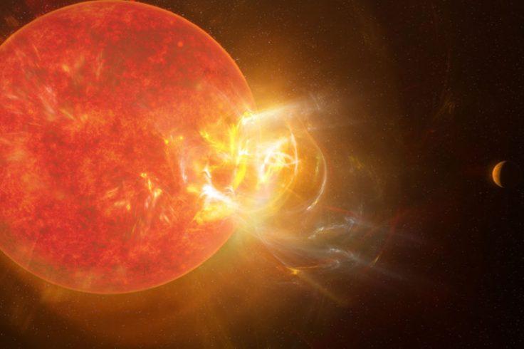 Proxima Centauri flare
