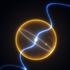 Artist's impression of diamond planet orbiting a pulsar.