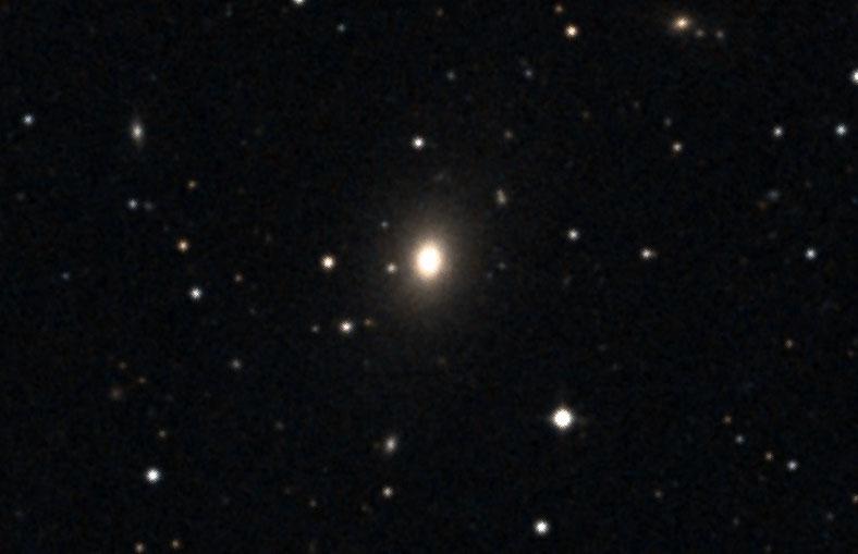 Rare visible galaxy